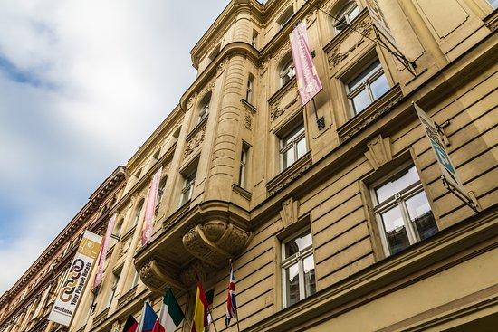 โรงแรมซีซาร์พาเลซ: Hotel Caesar. Prague