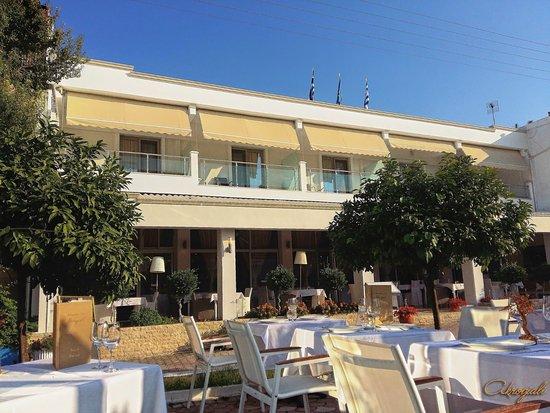 Foto de Akrogiali Boutique Hotel