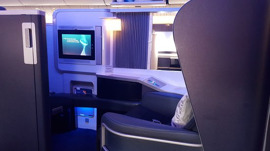 First Class Cabin Layout With Personal Wardrobe Picture Of