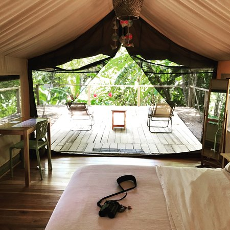 Darien Province, Panama : One of the tents