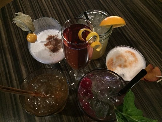 Invermere, Canada: New Winter cocktail menu