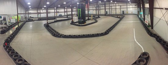 Bluegrass Karting & Events: 40,000 square feet Track Area
