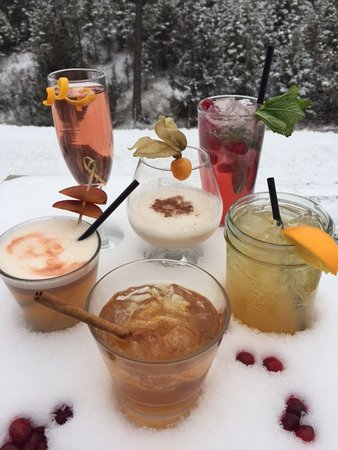 Invermere, Canada: Snow & Cocktails always go well together....
