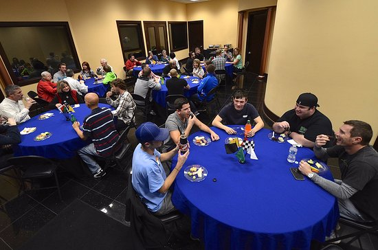Bluegrass Karting & Events: Banquet space for seating up to 100 guests.