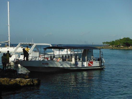 Bayahibe, República Dominicana: dive Boat