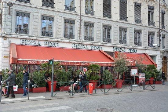 Pizza pino lyon restaurantbeoordelingen tripadvisor - Bureau de change rue de lyon ...