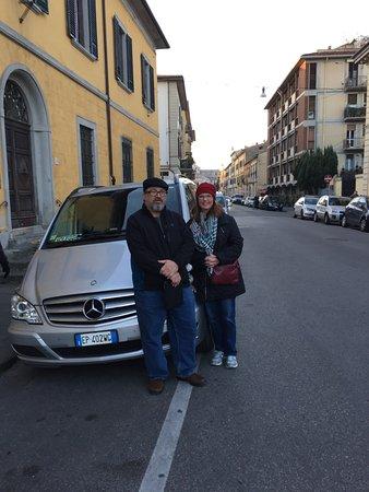 DriverinRome Transportation & Tours: Private car for Florence/Pisa tour.