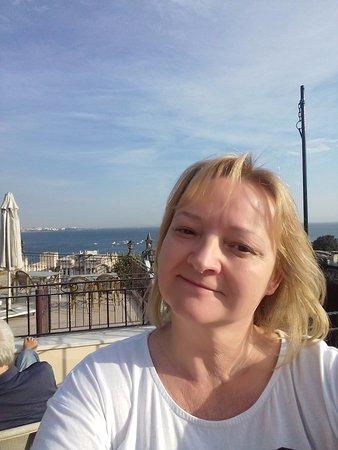 Hotel Alp Guesthouse: sunny selfie 
