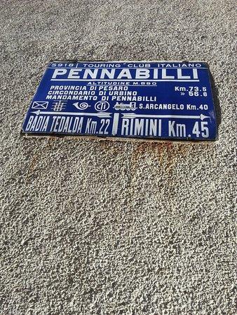 Pennabilli, إيطاليا: Un luogo diverso...un piccolo paese pieno di sorprese. ...