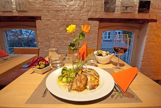 Restaurant Cafe Kostbar: Die kostbare obere Etage im neuen Glanz...