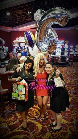 The Casino at The Ritz-Carlton : Rosanna & Angelique Birthday Surprise for ME! ♥♥♥