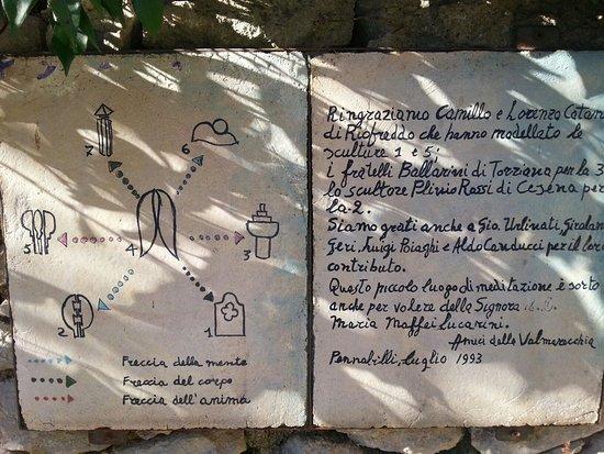 Pennabilli, Italien: Un luogo diverso...un piccolo paese pieno di sorprese. ...