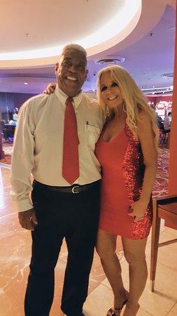 "The Casino at The Ritz-Carlton : Glenn, Security.....Wishing me a ""Happy Birthday"""