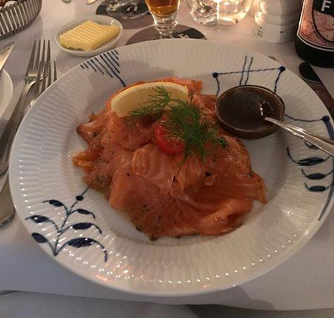 Restaurant Amalie: Gravlax