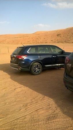 Desert Retreat Camp: Open Parking
