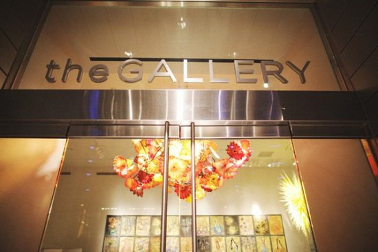 The Gallery at Aria: chihuly