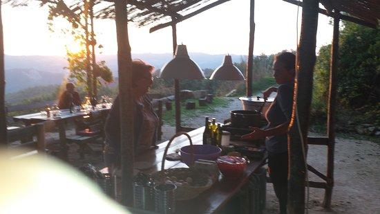 Semproniano, Italië: Genieten van de uitzichten