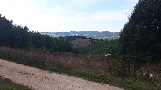 Semproniano, Italie : Genieten van de uitzichten