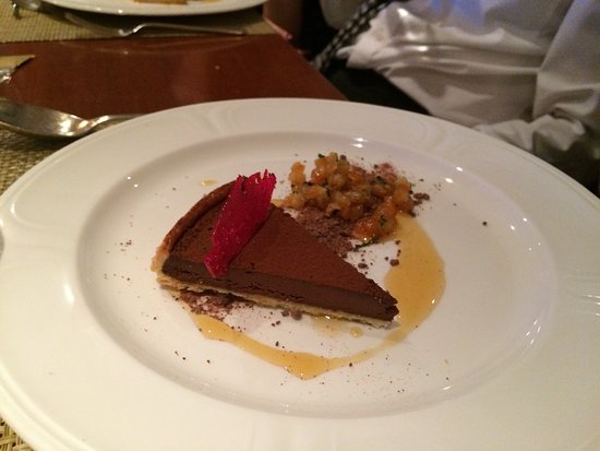 greywalls hotel chez roux chocolate tart the best christmas pudding ever hare
