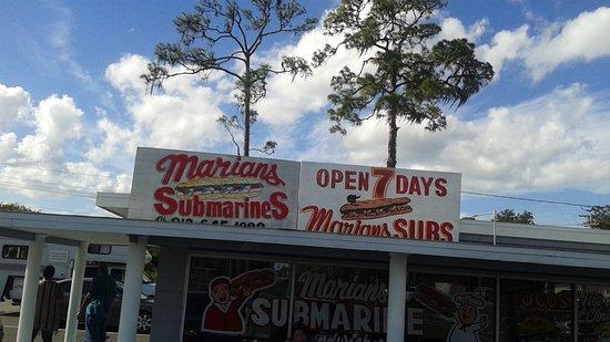 Ruskin, Floryda: Marian's Sub Shop