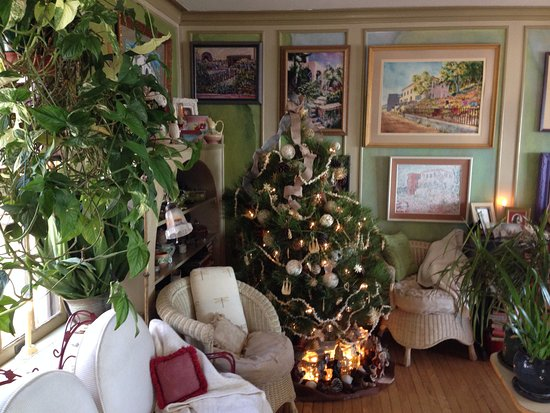 Surgeon's House: Living room at Christmas