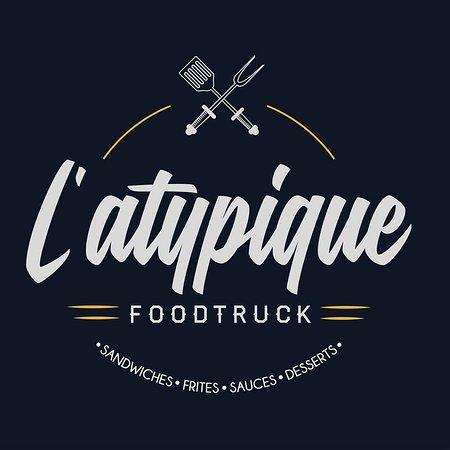 logo de l atypique food truck