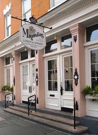 Magnolias - E Bay St., exterior entrance