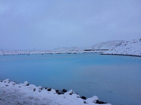 Grindavik, Islandia: Lagoon Area outside of Spa