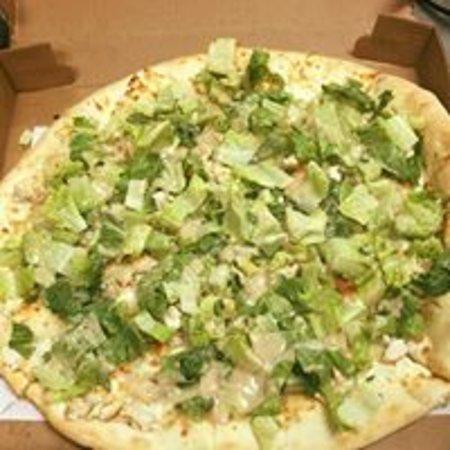 Absecon, Nueva Jersey: Chicken Caesar Pizza