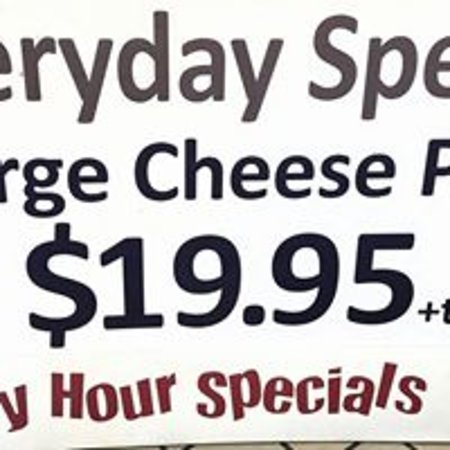 Absecon, NJ: Everyday 2 Large Pizzas for $19.95
