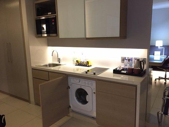 Studio Room Hidden Washer Dryer Picture Of Capital Centre Arjaan By Rotana Abu Dhabi Tripadvisor