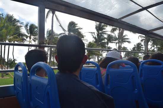 North Miami Beach, FL: Vista de South Beach en el bus
