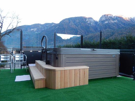 Hotel Vittoria: MIni-piscina idromassaggio in terrazza