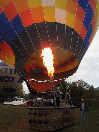Balloon Team Italia : via