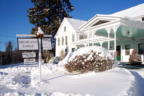 Greensboro, VT: Winter Wonderland @ Highland Lodge!