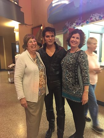 Dick Clark's American Band Stand Theater: Elvis was a great singer and fun with the crowd.  Love you daddy!