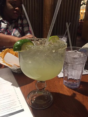 Merry Piglets Mexican Grill: Fishbowl Margarita with Tequila