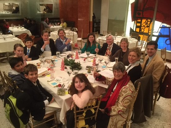 our family gathering on christmas at the brasserie 8 1 2