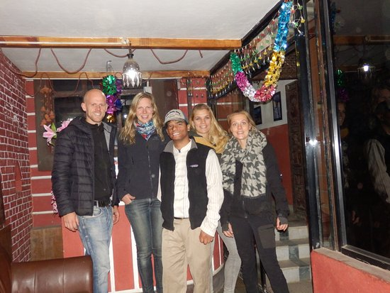 Nepal Apartment : Together with Naresh, our house manager