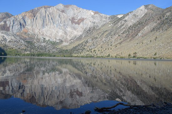 Convict Lake: View from West side