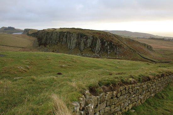 Northumberland, UK: Short walk From Steel Rigg car park