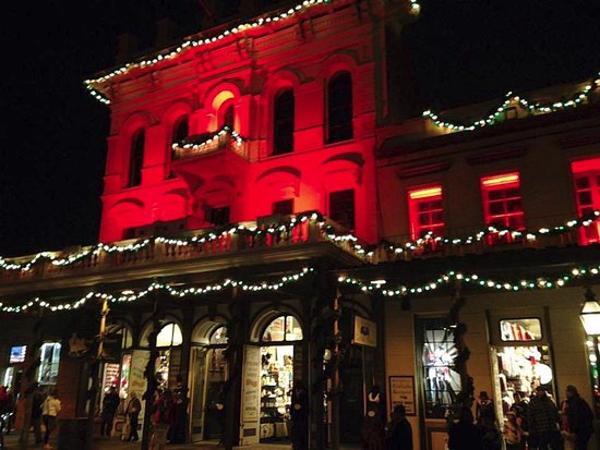 Old Sacramento Christmas period at night - Picture of Old ...