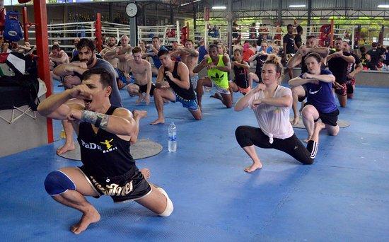خاو لاك, تايلاند: Muay Thai class