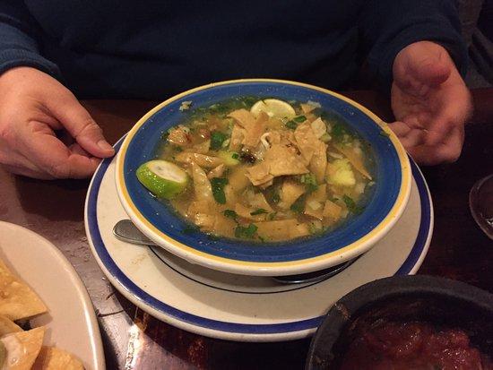 Lilburn, GA: Chicken Tortilla Soup