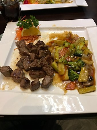 Oconomowoc, WI: Hibachi Filet