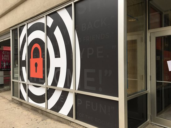 Store Front Of The Escape Game Chicago