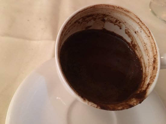 Roslyn, Estado de Nueva York: that's the amount of residue on my turkish coffee!