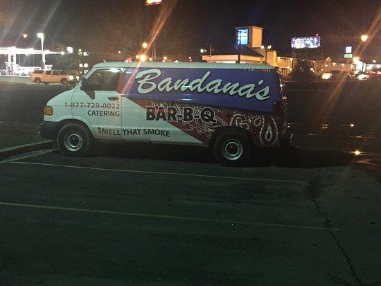 Mount Vernon, IL: Bandana's Barbecue