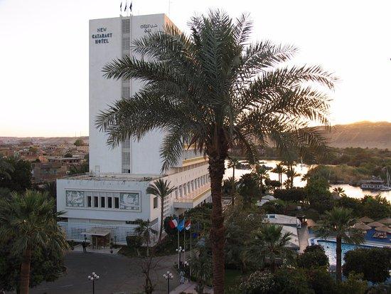 Вид на отель Новый Катаракт