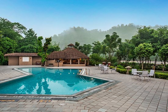 Swimming Pool Picture Of The Riverview Retreat Jim Corbett National Park Tripadvisor